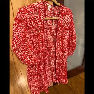 Victoria secret heart lightweight robe